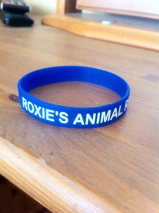 Roxies wristband (blue)
