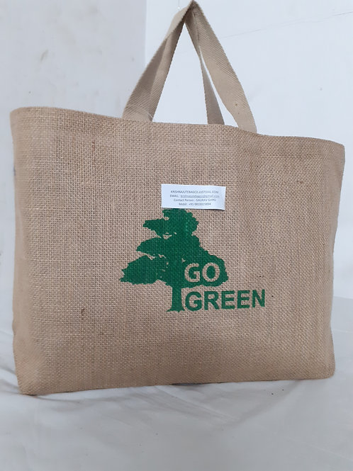 """KJBC """"Go Green"""" Bag"""