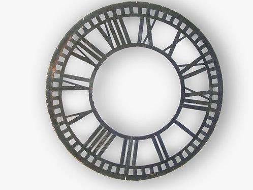 Iron Clock Face