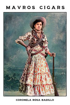 Cigar card Rosa Badillo