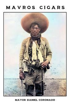 Cigar card Daniel Coronado