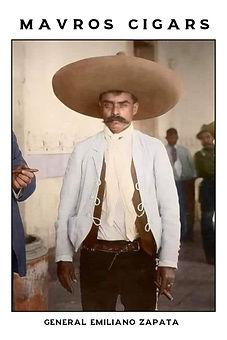 Cigar card Emiliano Zapata