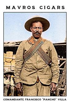 Cigar card Pancho Villa