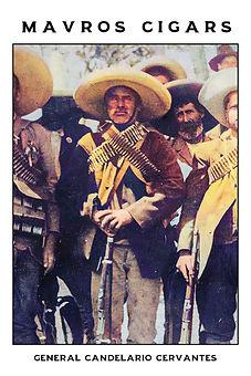 Cigar card Candelario Cervantes