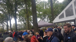 Gedenkveranstaltung auf dem Deustchen Soldatenfriedhof Langemark