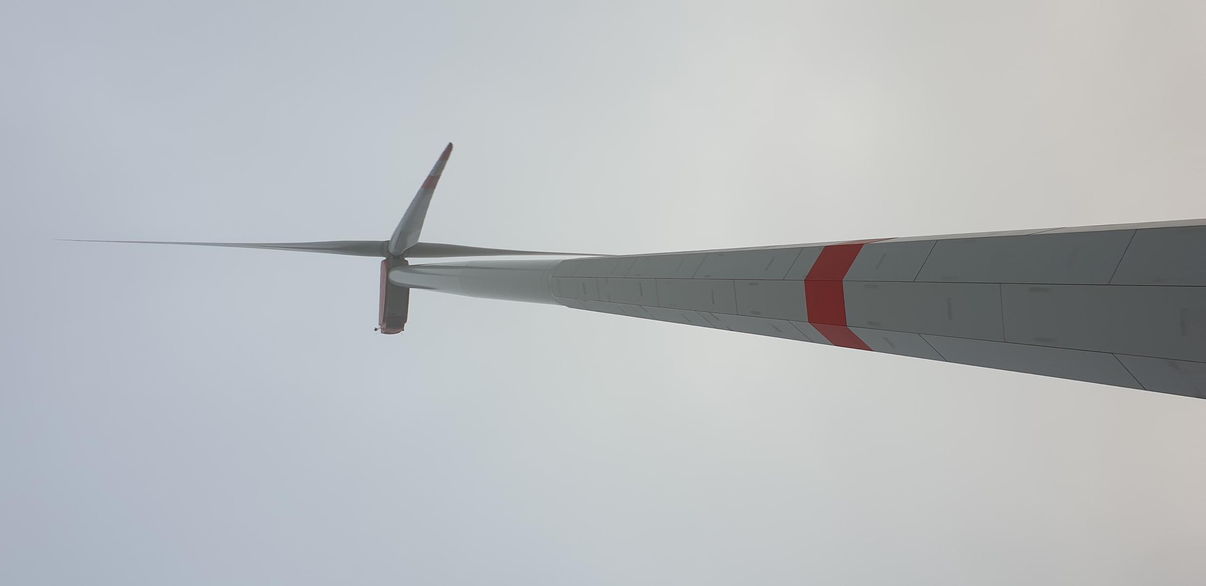 Windpark von der malsburg bei ESCHEBERG