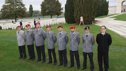 Ehrenformation der deutschen Delegation