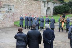 Begrüßung durch den Leitenden, OLt d.R. Valentino Lipardi