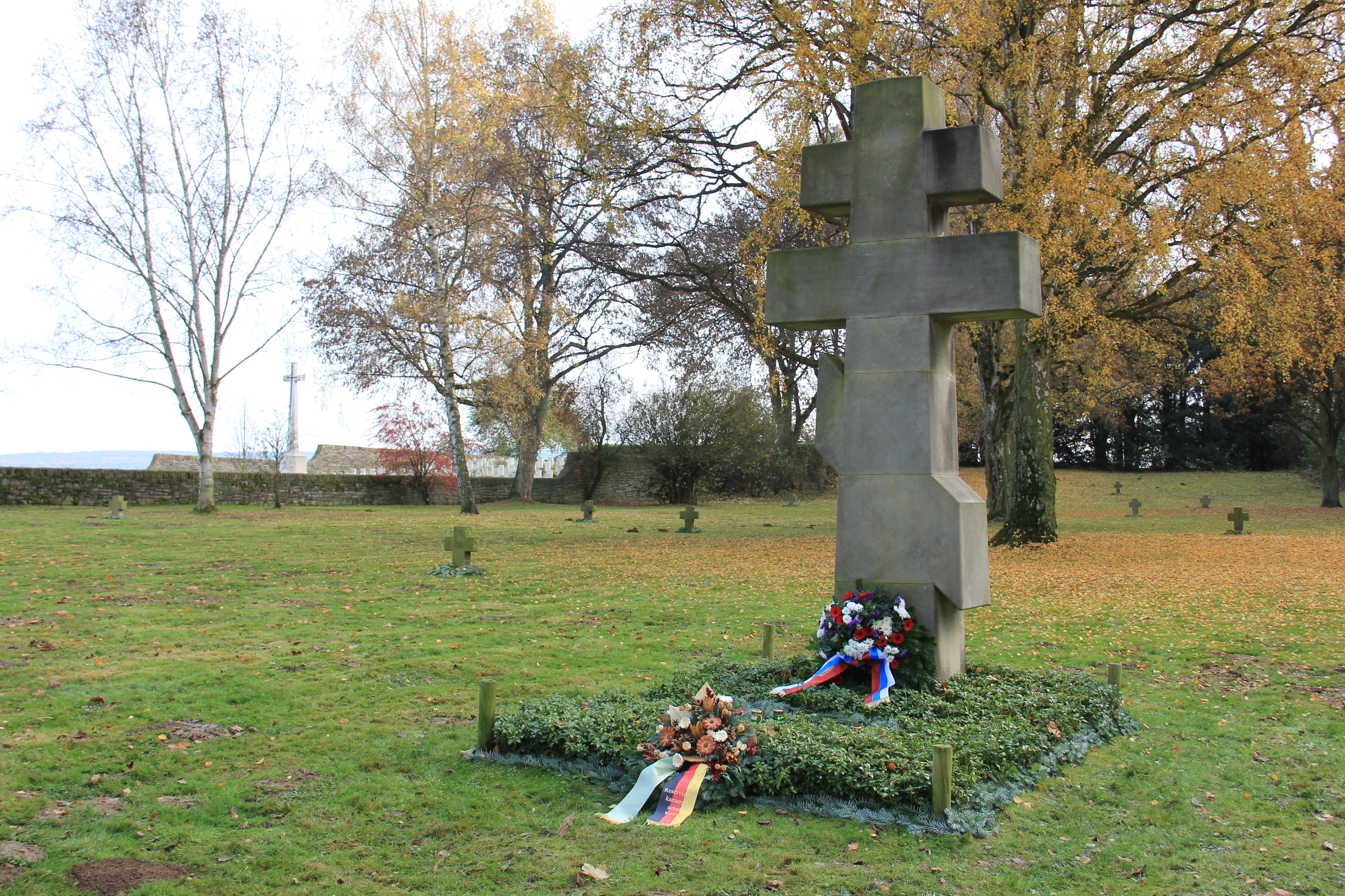 Gedenktafel für russische Gefallene
