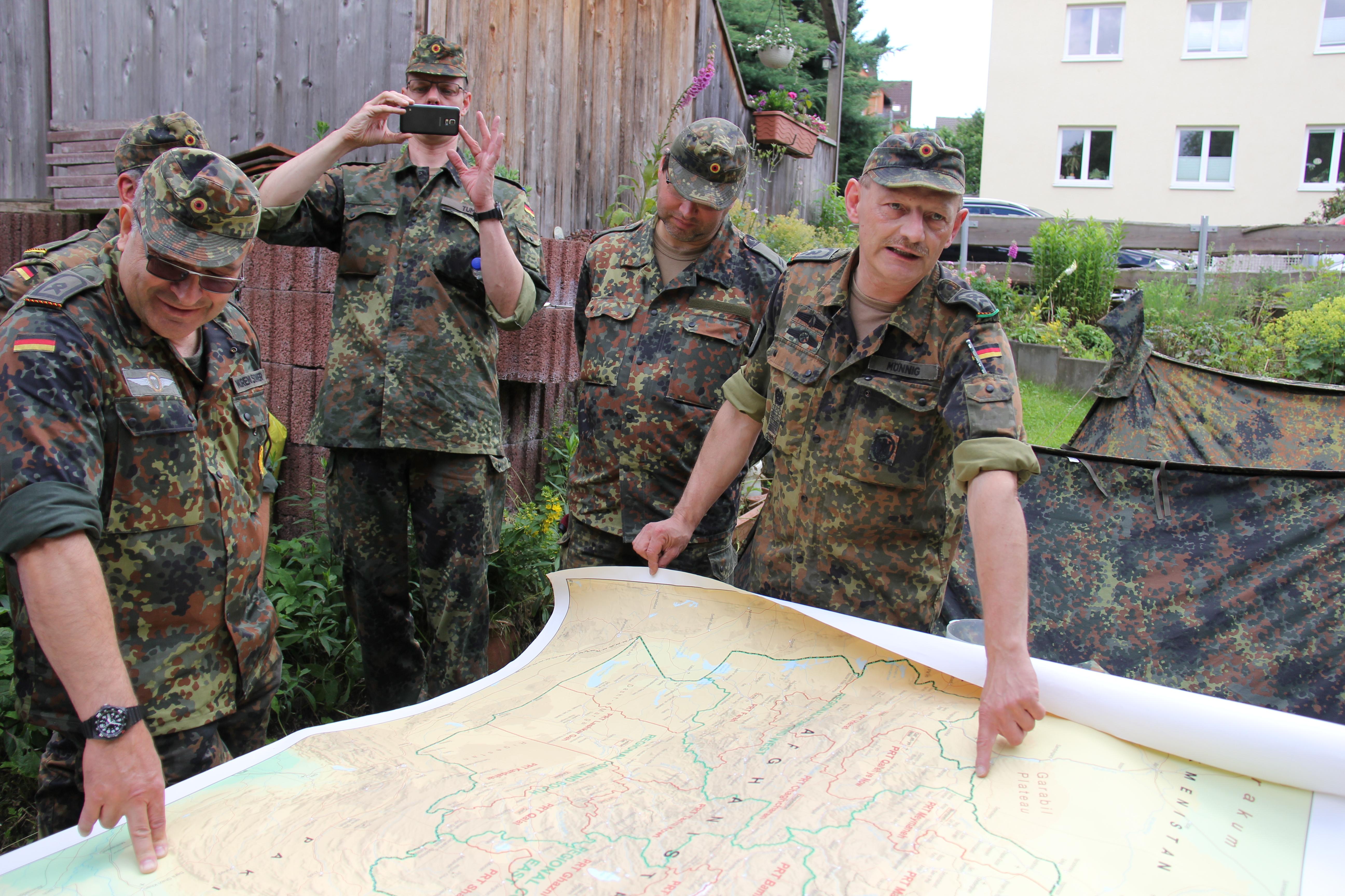 50. Ausbildung Karte + Kompass