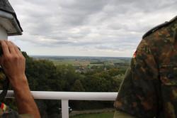 Blick vom Kemmelberg, der beherrschenden Höhe in Flandern