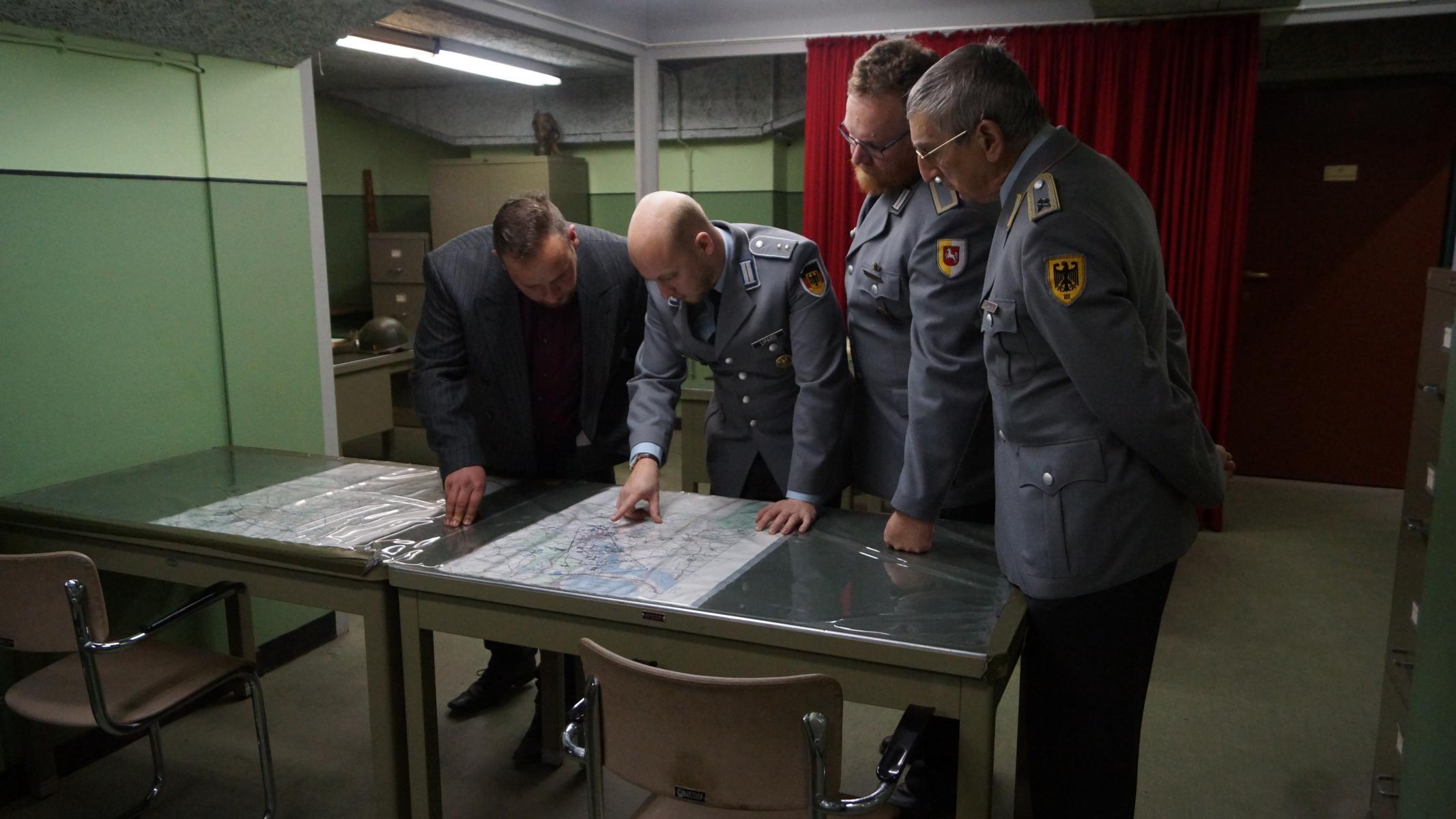 OPZ im NATO-Bunker