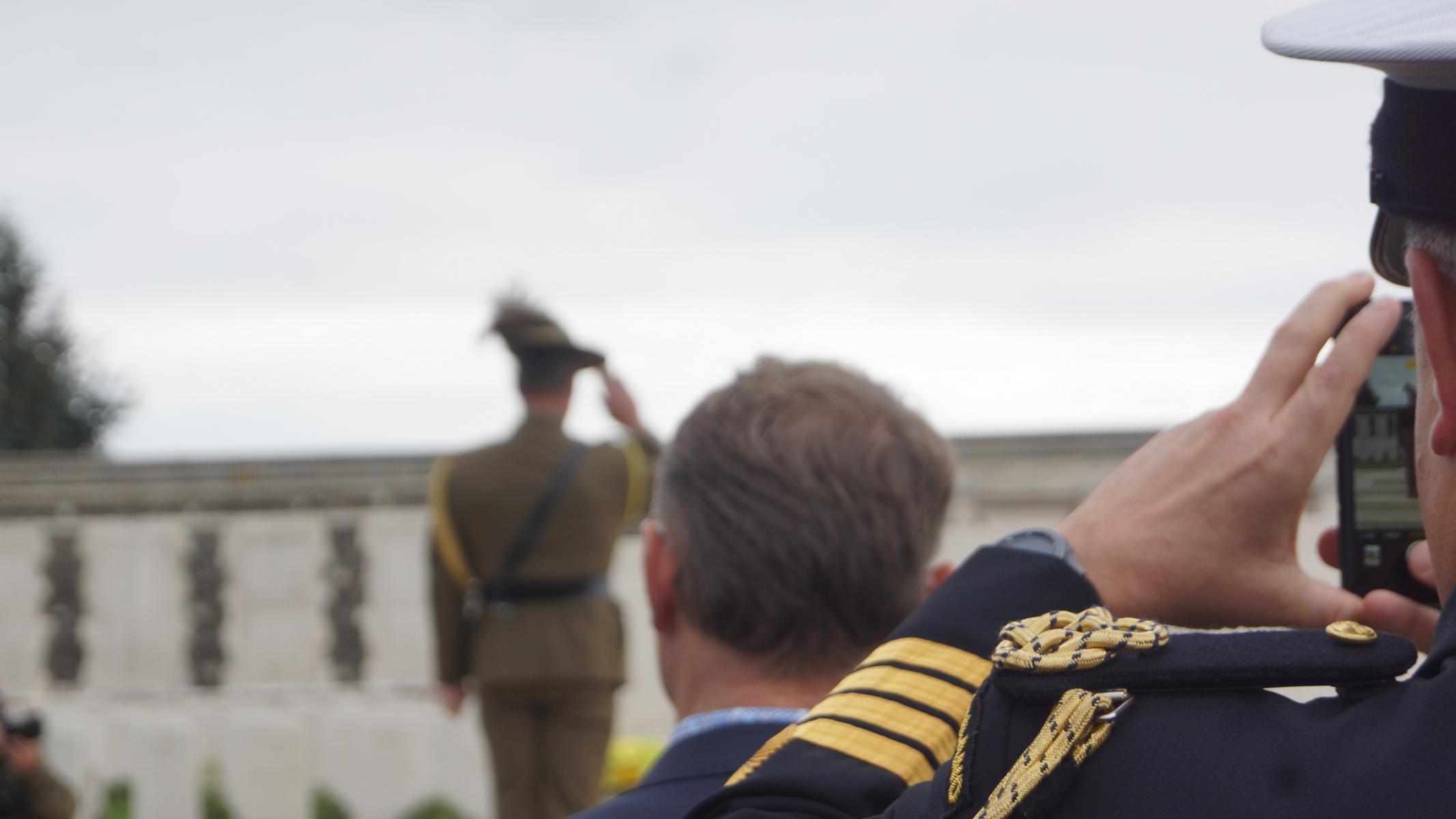LtCol Gerry McGowan, australischer Militärattaché