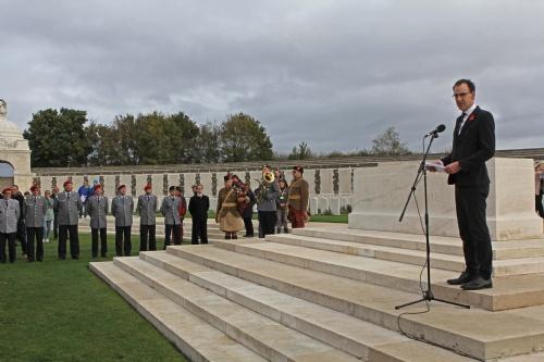 Ansprache des neuseeländischen Botschafters Gregory Andrews