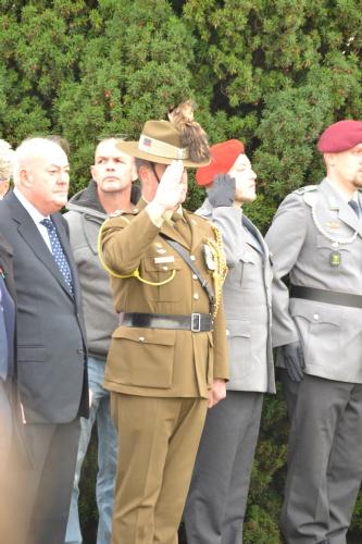 LtCol Gerry McGowan, Australian Army
