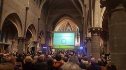 In Memoriam Concert in der Kirche von WIJTSCHATE, in direkter Nachbarschaft zur Höhe 80