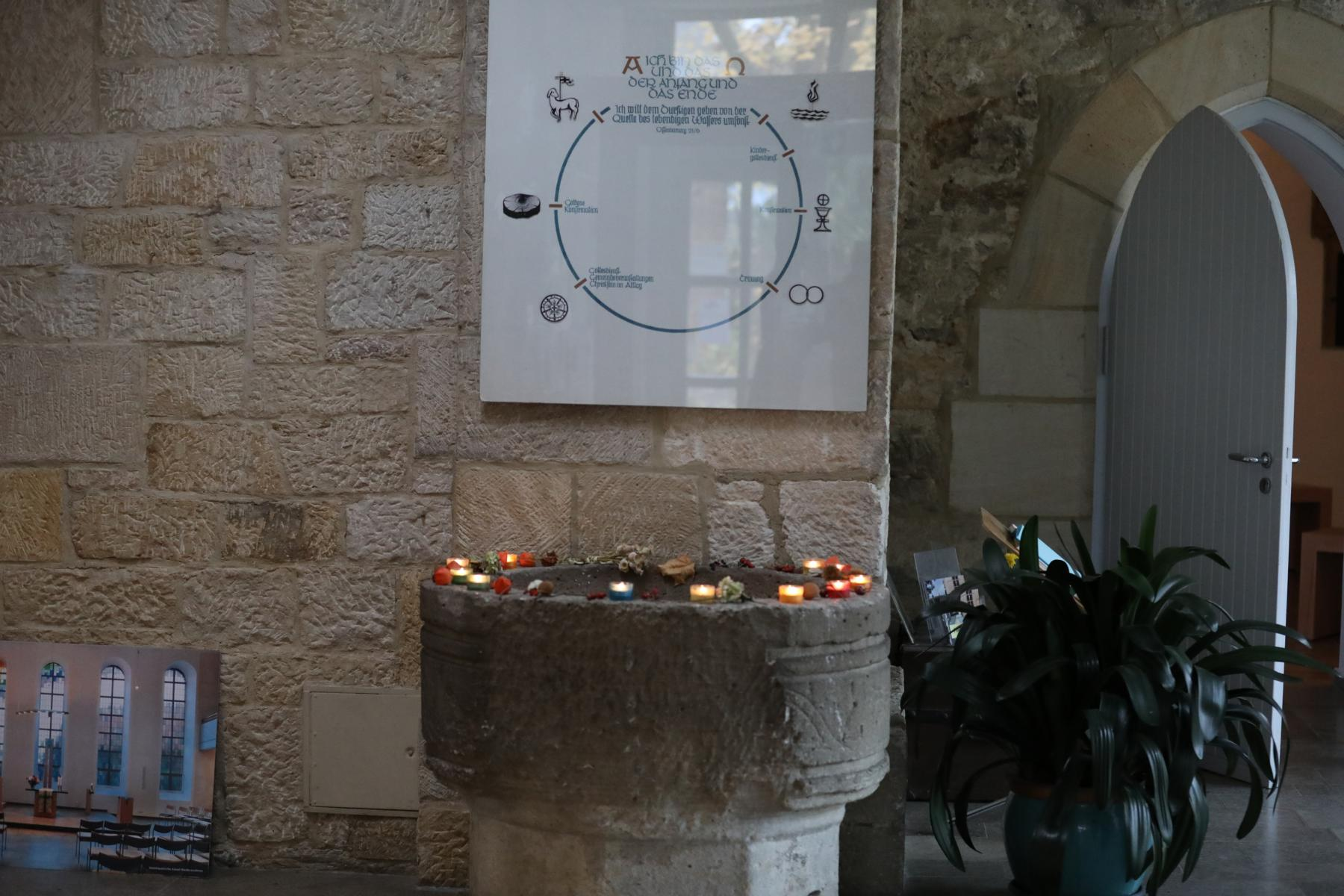 Ökumenischer Volkstrauertagsgottesdienst in der Matthäuskirche in KASSEL-NIEDERZWEHREN