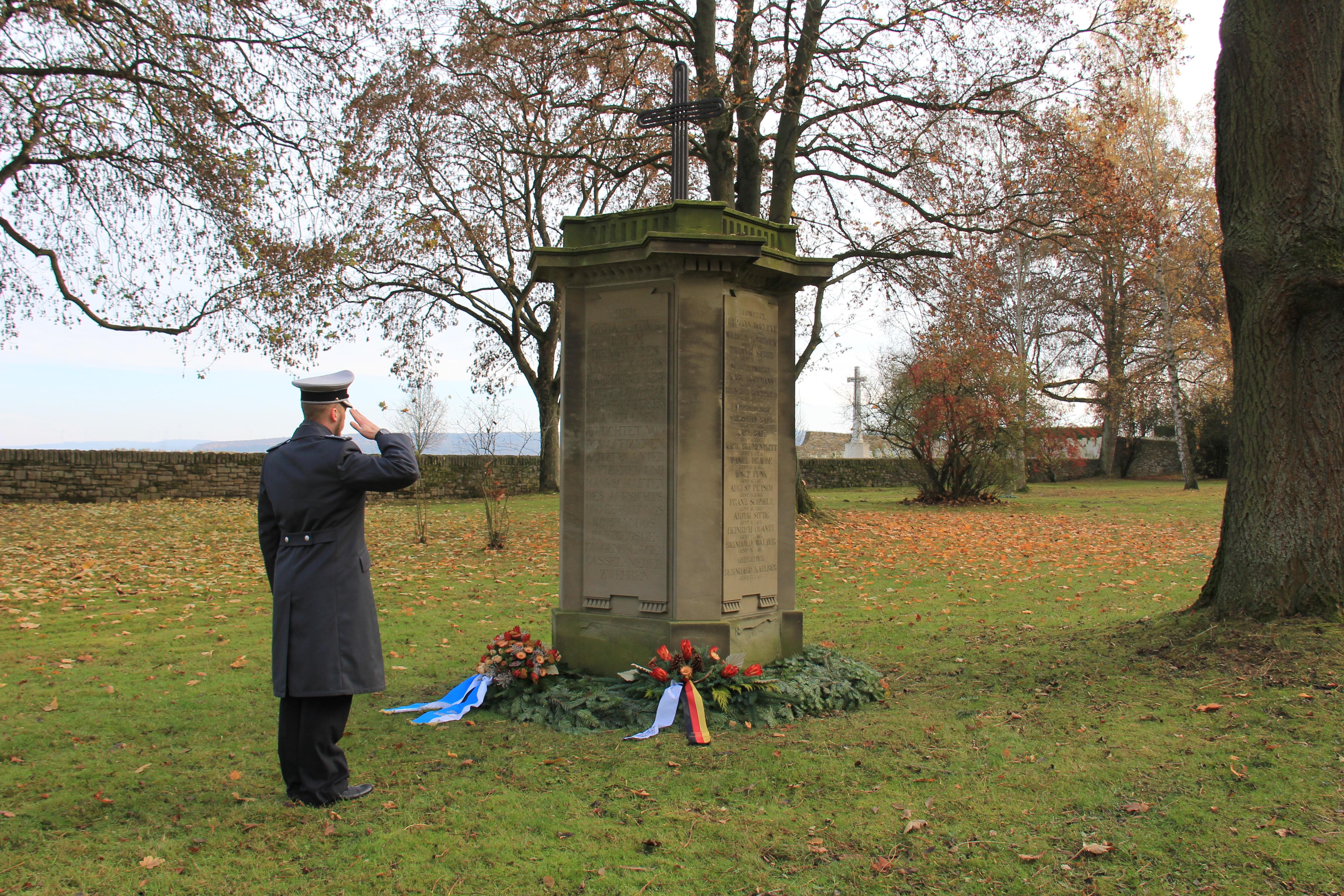 Gedenkstein für deutsche Soldaten