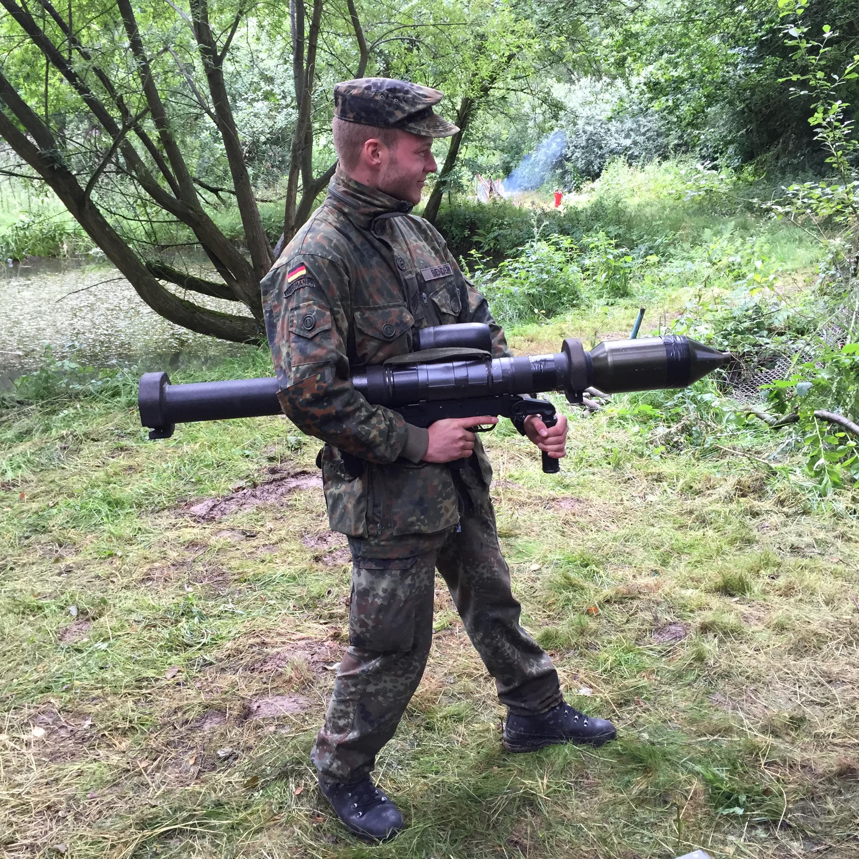 SG Bender, PzFst 3 im Deutschuss