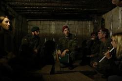 Erklärung des Bunkers und des Aufbaus des Grabens