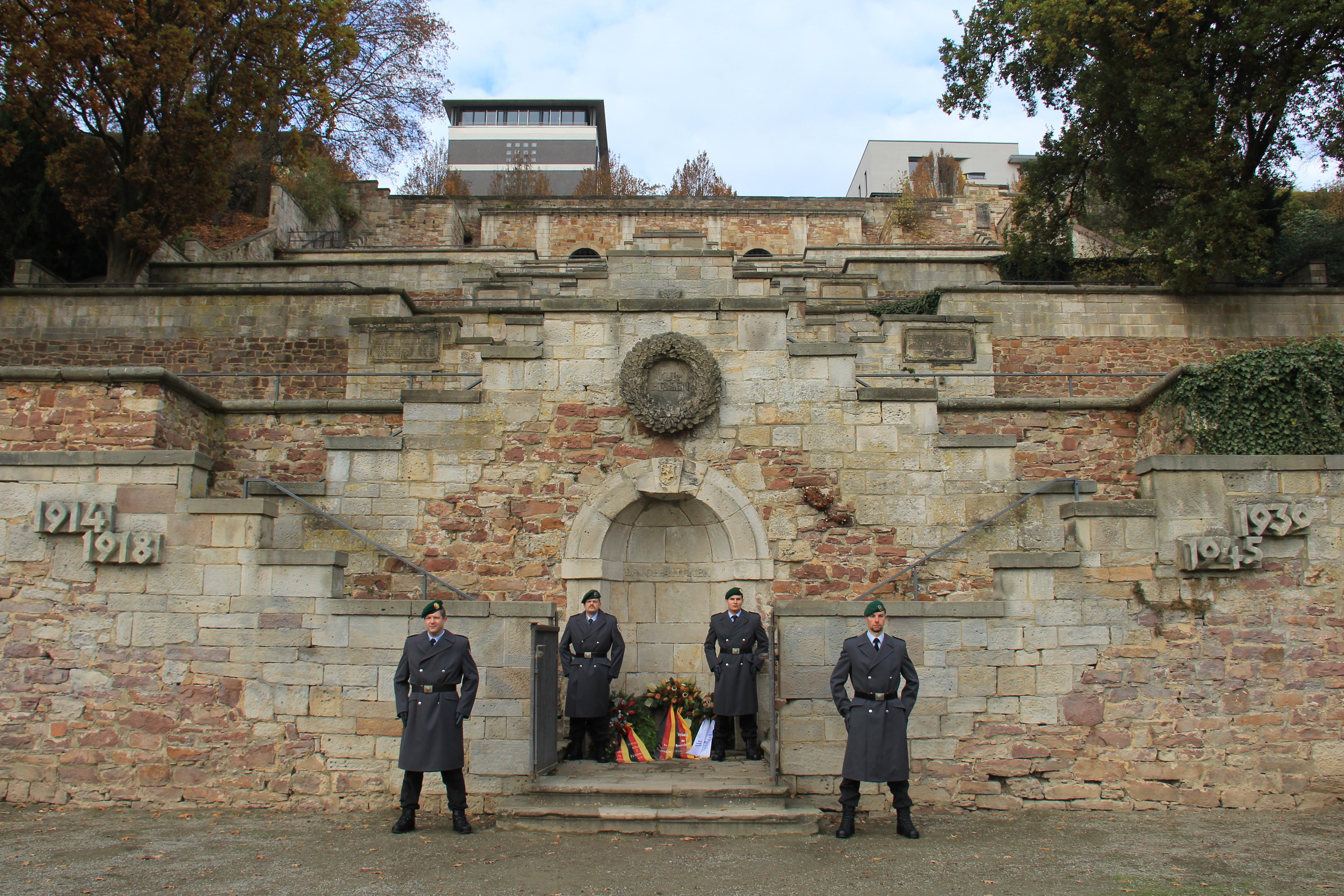 Das Ehrenmal in Kassel