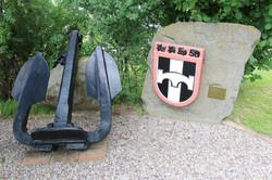 Gedenkstein auf dem Gelände