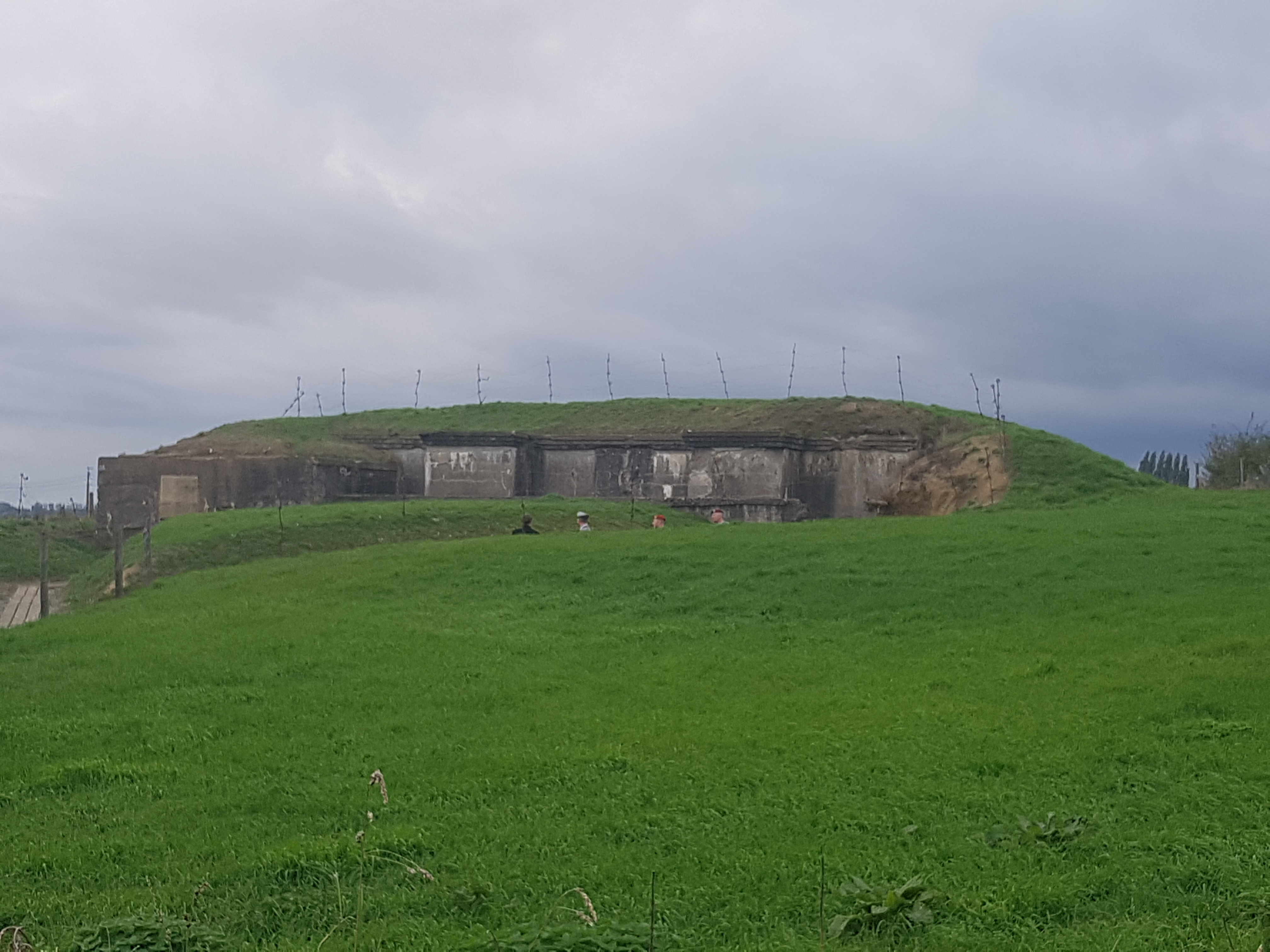 Deutscher Kommandobunker aus 1915