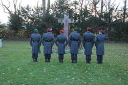Anlässlich 100 Jahre Ende Erster Weltkrieg: Kranzniederlegung auf dem Soldatenfriedhof in KASSEL