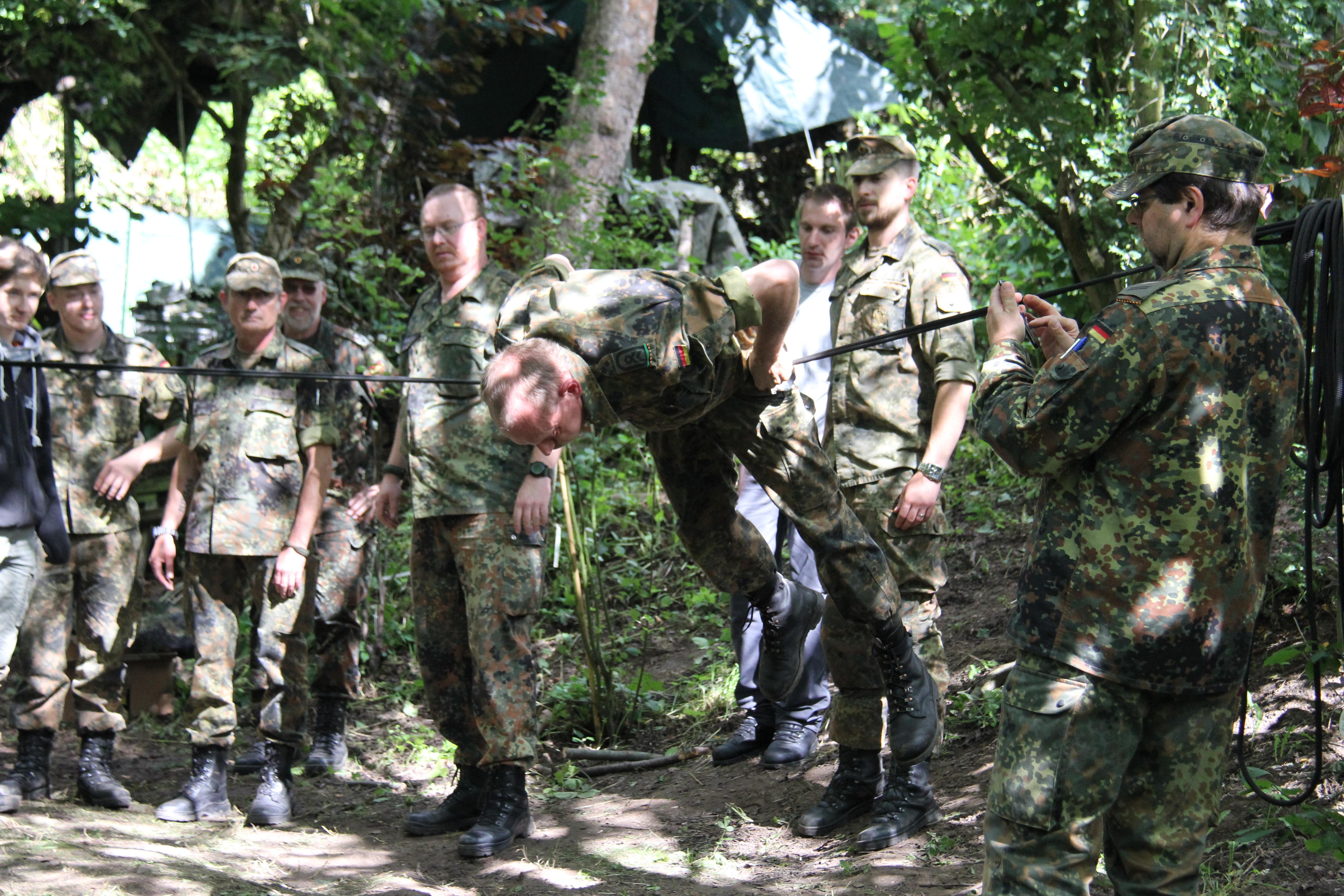 61. Ausbildung Knoten und Bunde