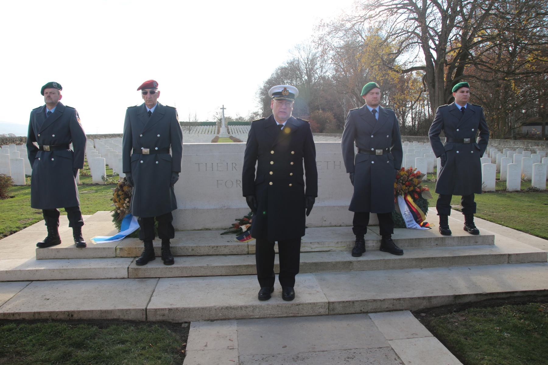 Abschlussworte und Überleitung zum Russischen Friedhof