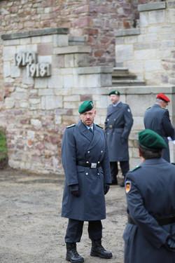 Ehrenzugführer, Hptm d.R. Frank Sander