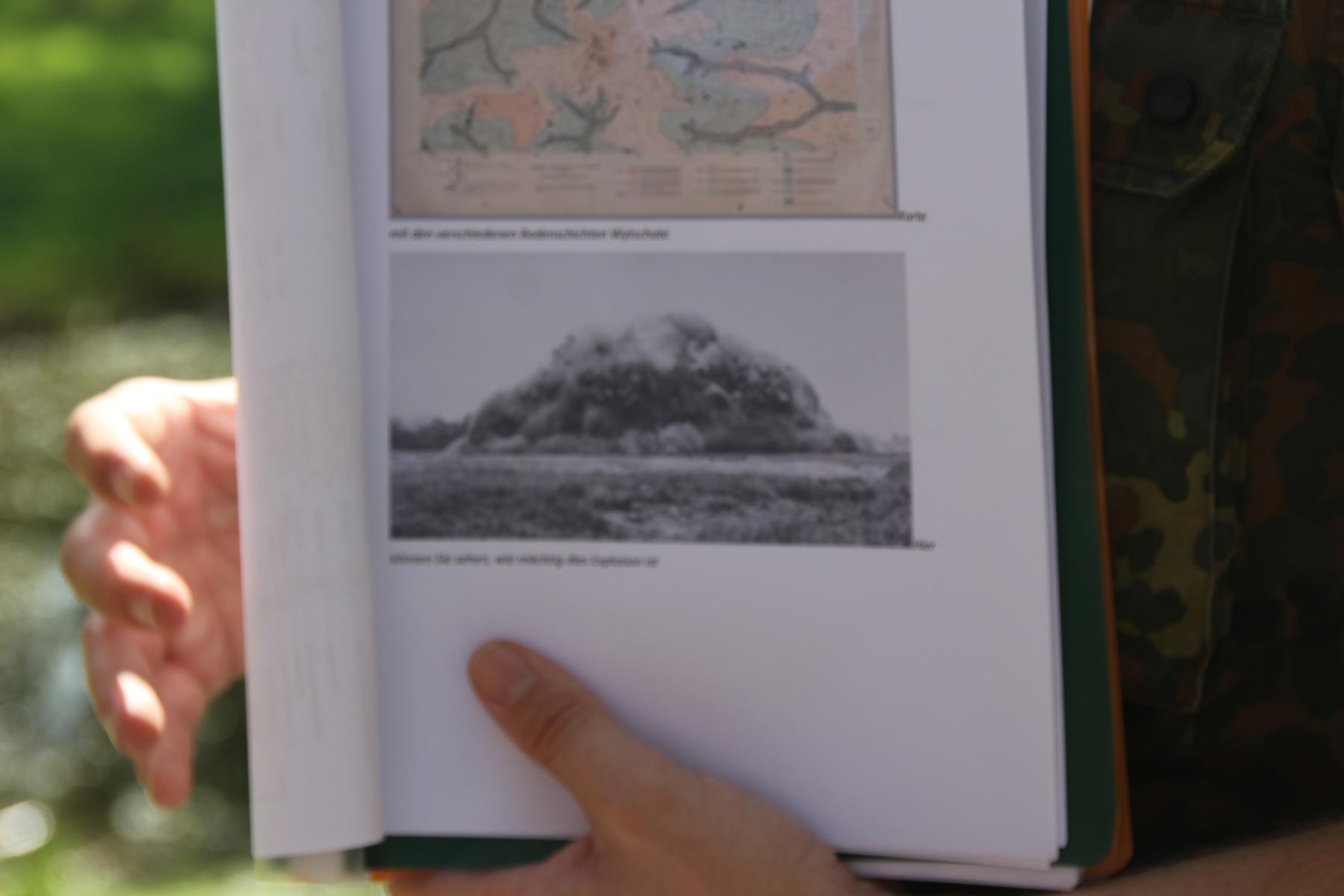 Hill 60/Caterpillar-Krater - Erklärung des Minenkrieges