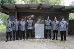 Gedenkstein im Bayernwald