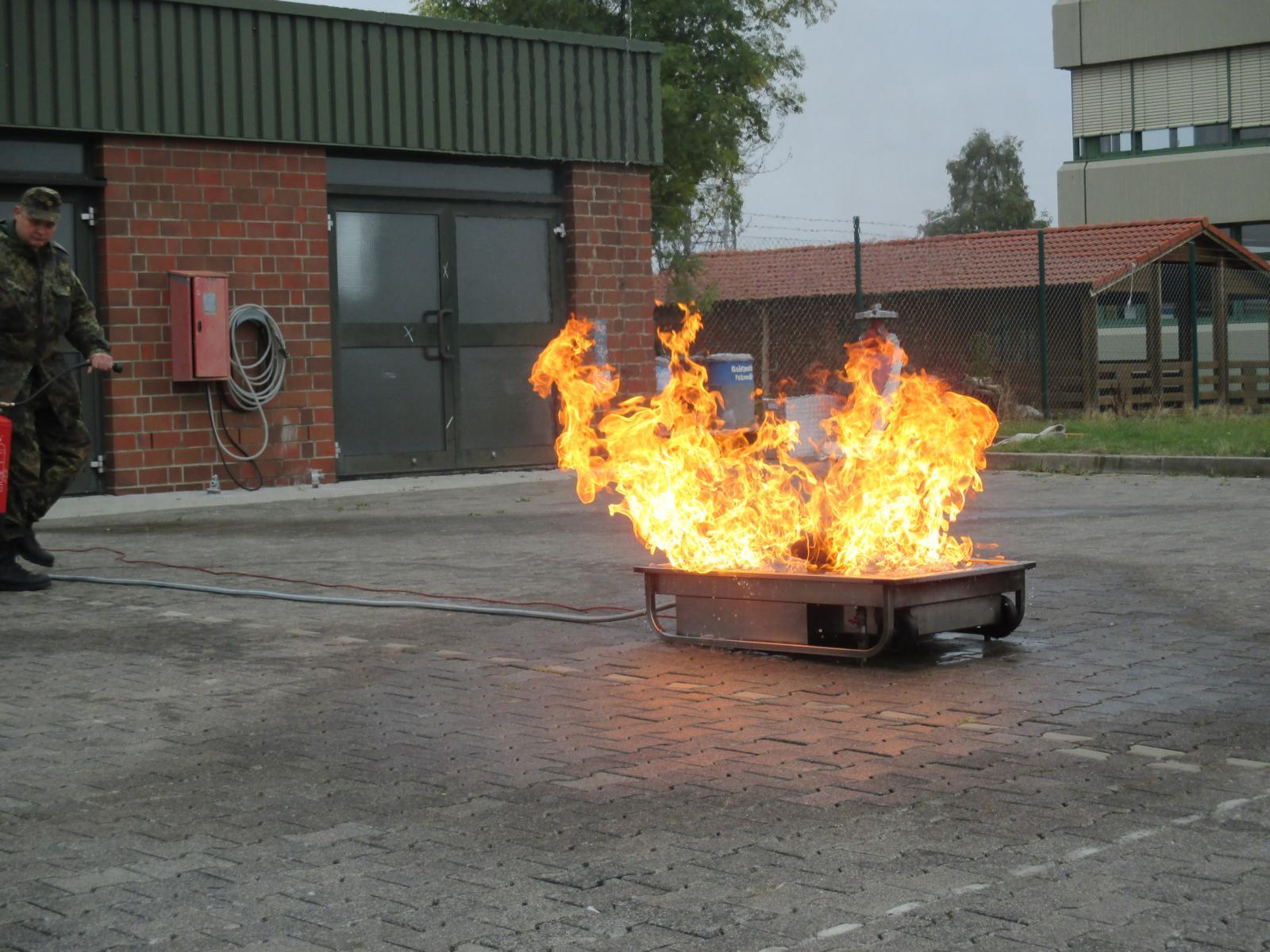 Brandhelferausbildung