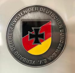 Persönlicher Coin des Landesvorsitzenden Hessen