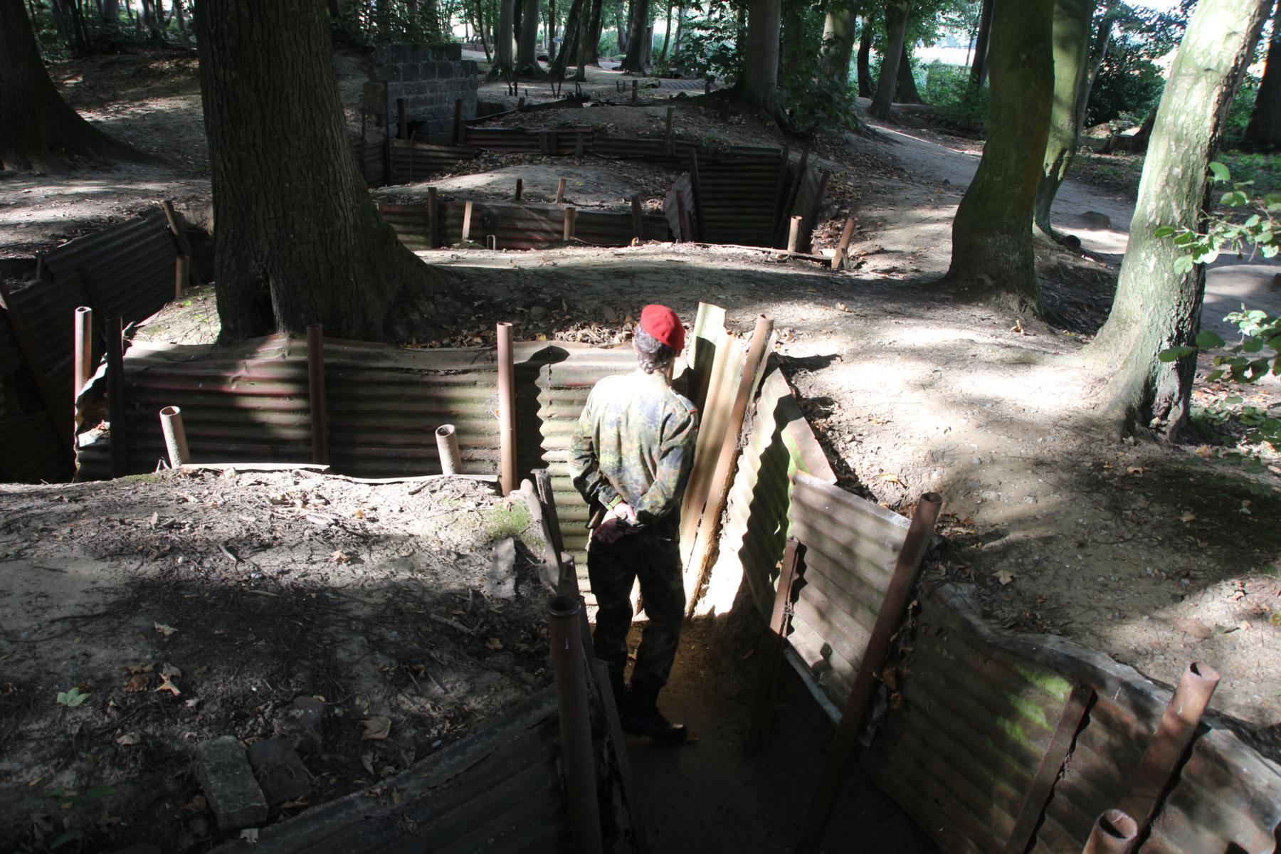 In den Gräben von Hill 62