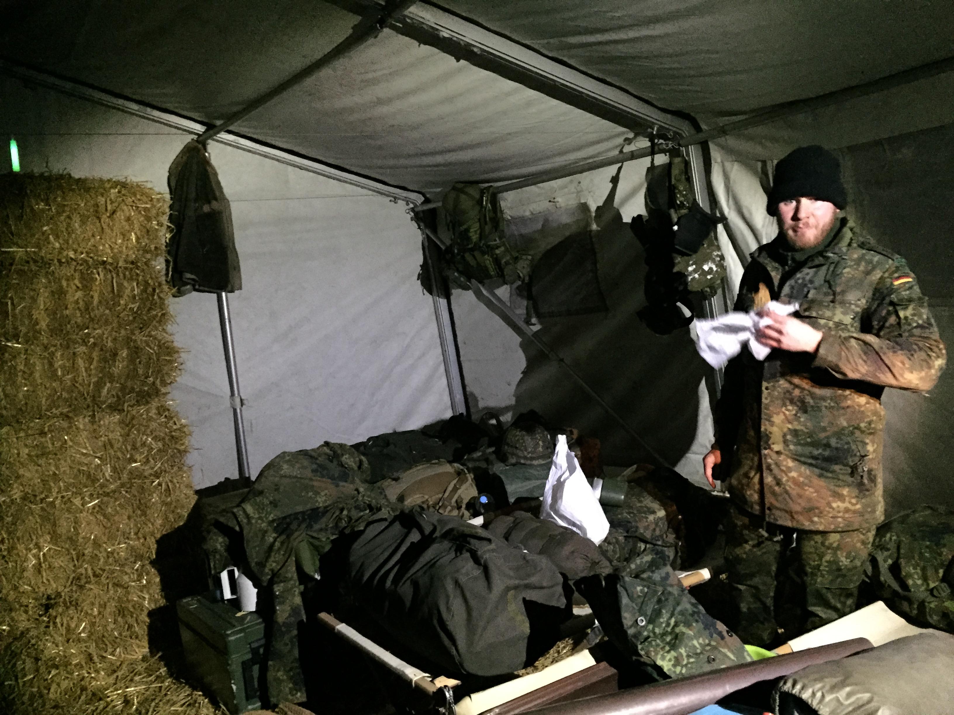 SG Knauf in wohlverdienter NATOPause