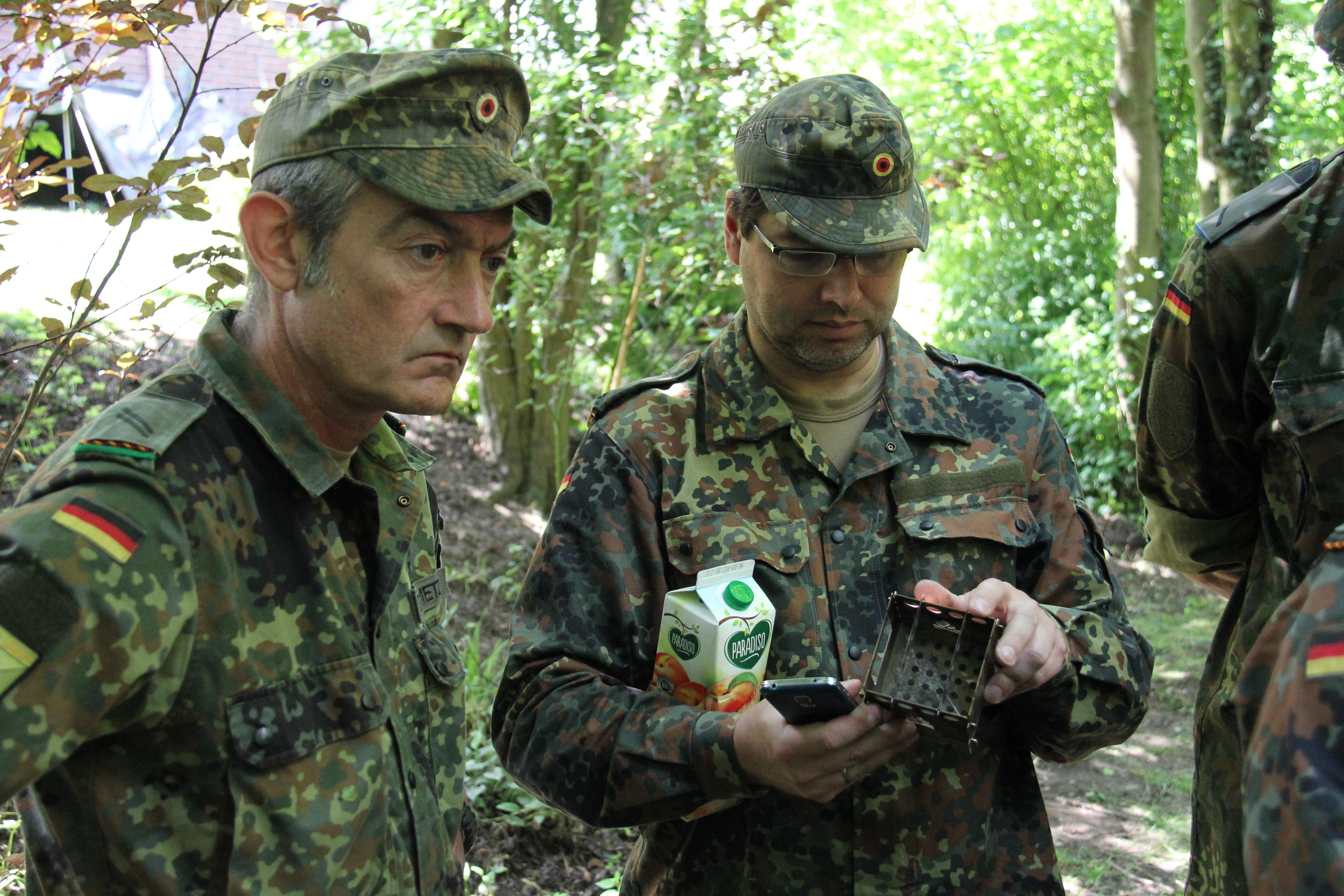 19. Leben im Felde/Survival-Ausb.
