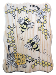 Bees and Honeycomb