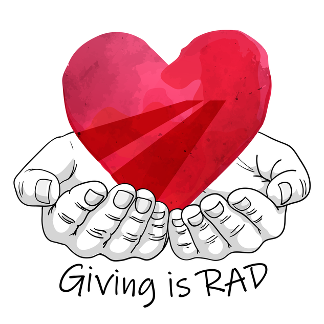 Giving is RAD