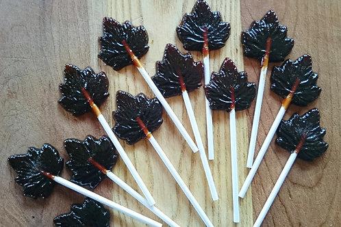 Maple Lollipops - 10 pack (1 lb 9 oz)