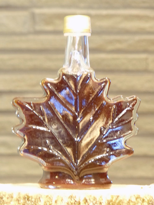 Glass Maple Leaf - Large (250ml)