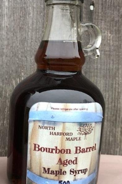 Bourbon Barrel Aged Syrup- Gallone (500ml)