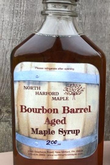 Bourbon Barrel Aged Syrup- Flask (200ml)