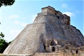 メキシコ カンクン ウシュマル遺跡