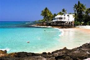 ハワイ ハワイ島 マジック・サンド・ビーチ・パーク