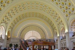 アメリカ ワシントンDC ユニオン駅