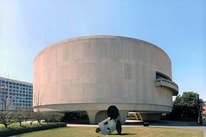 アメリカ ワシントンDC ハーシュホーン美術館と彫刻の庭