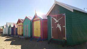 オーストラリア メルボルン ブライトンビーチ