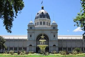 オーストラリア メルボルン 王立展示館&カールトン庭園